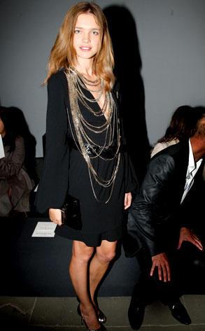 El look vintage de la modelo Natalia Vodianova3
