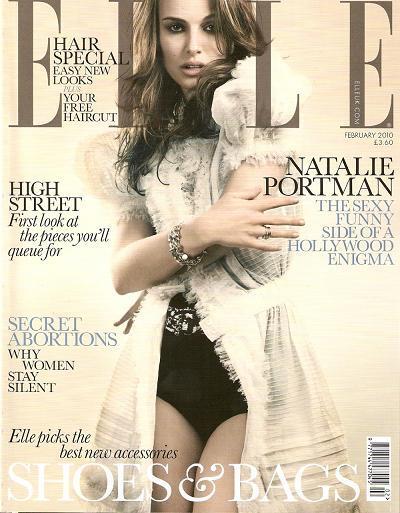 Natalie Portman Revista Elle