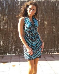 Indhira pone de moda los vestidos de Chatik & Kertan7