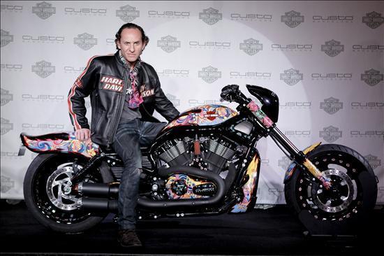Harley Custo, una moto disenada por Custo Barcelona