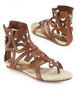 estilo griego calzado