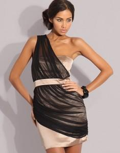 estilo griego vestido noche