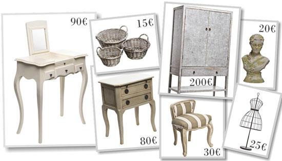 Mercadillo de muebles en la tienda hazel de moda for Mercadillo muebles madrid