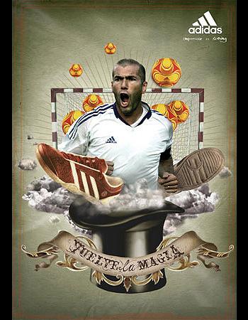 Adidas Body Care, incorpora a Zidane como nueva imagen