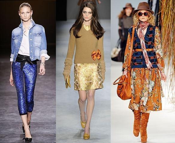 La moda del otono se fija en los setenta
