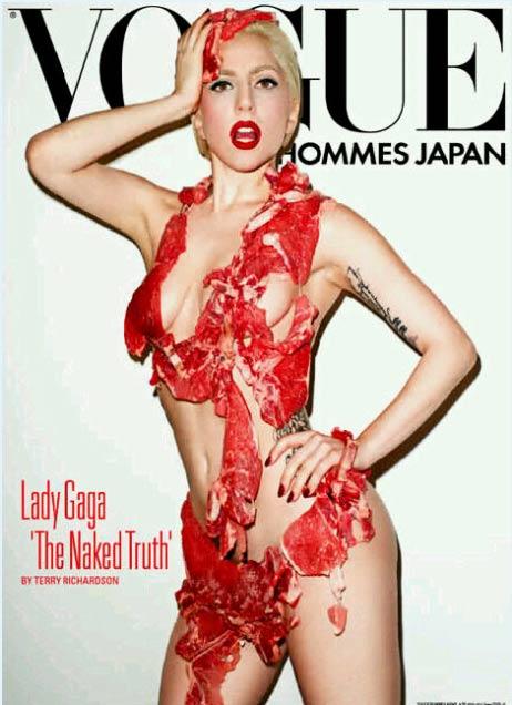 Lady Gaga posa para Vogue
