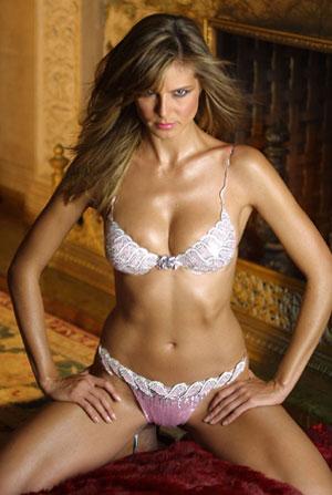 Heidi Klum deja de ser un angel de Victorias Secret1