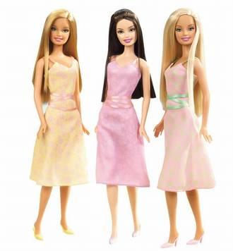 Repaso a la historia de la moda a traves de las Barbies