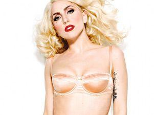 Lady Gaga se suma a la moda lenceria