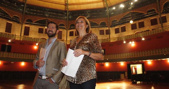 Andrés Aberasturi y María Isabel Valcárcel, presentadores