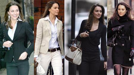 Middleton ha sabido lucir diferentes estilos