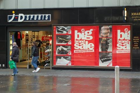 JD Sports es una de las tiendas más famosas en Gran Breta