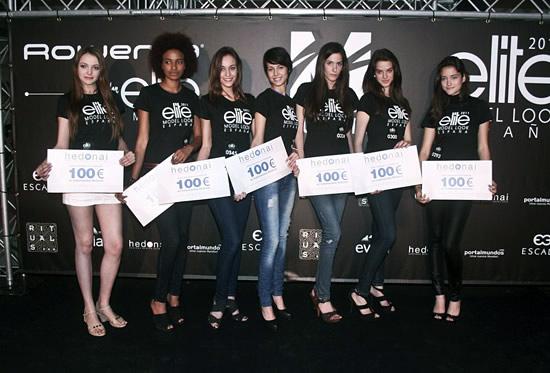 Las finalistas del evento