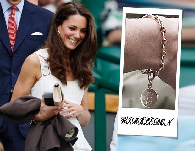 El precioso brazalete de Kate Middleton