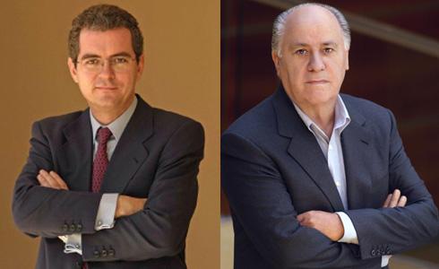 Pablo Isla y Amancio Ortega