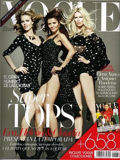 Tres grandes de la moda regresan a Vogue