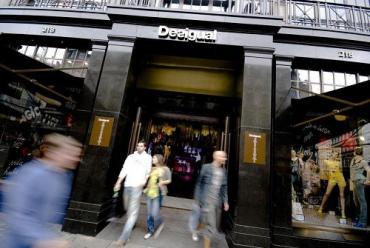 Una de las tiendas de Desigual en Londres