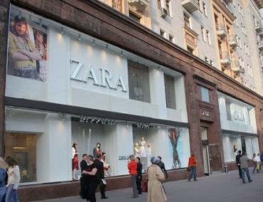 Zara, de Inditex, una de las referentes
