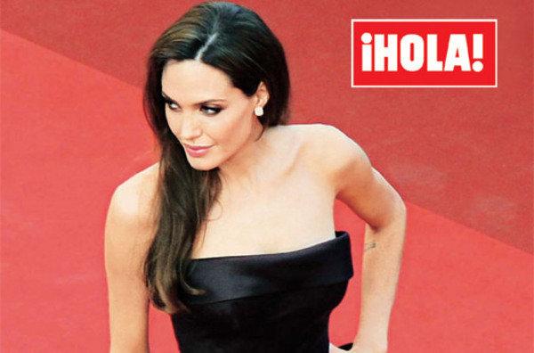 Angelina Jolie siempre a la moda de manera elegante