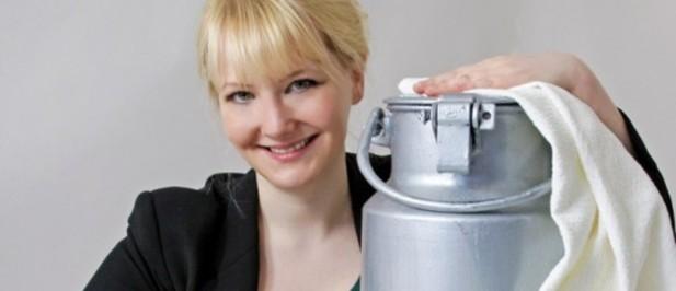 Un increible invento a base de leche