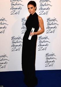 Victoria Beckham elegida como la Diseñadora de Marca