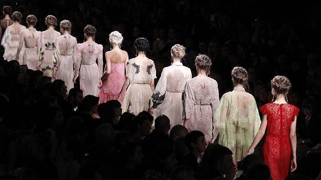 Increíble semana de la moda