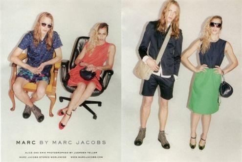La extravagante joven, ahora modelo de Marc Jacobs