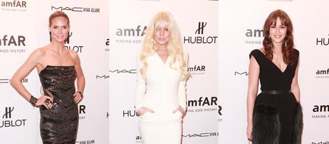 Heidi Klum, Linday Lohan y Leighton Meester estuvieron presentes