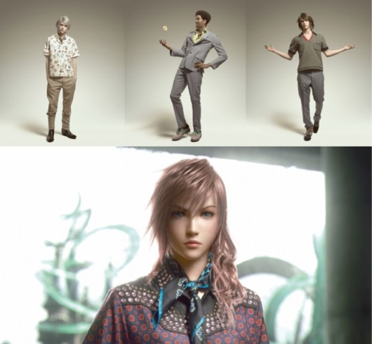 Final Fantasy viste con Prada