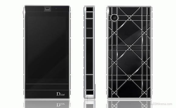 smartphones de lujo dior phone touch