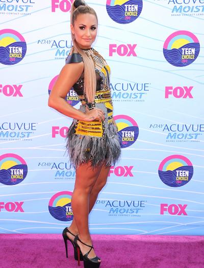 Demi Lovato fue la presentadora