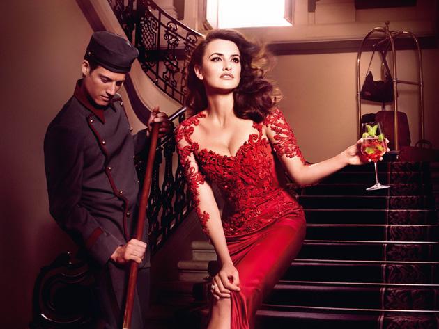 Penélope: Impactante, sensual y elegante.