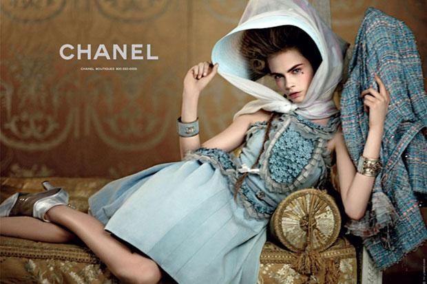 La joven diva se luce para Chanel
