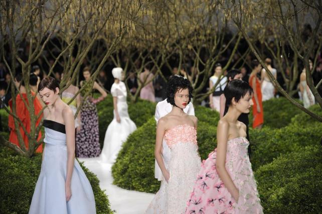 Un Jardín con sello Dior