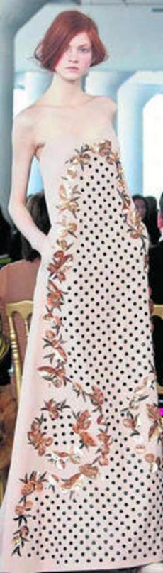 Un vestido a la altura de las circunstancias
