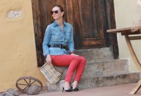Rojo y Azul, combinación perfecta.