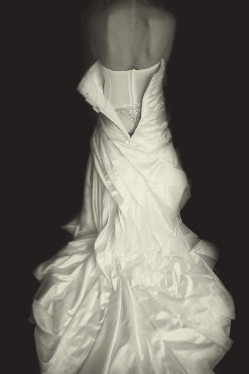 vestido de novia con corsé