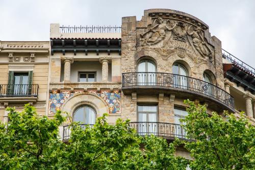 Arquitectura Gaudi en Barcelona